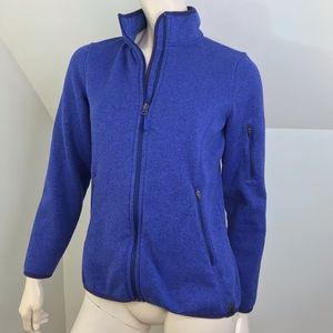LL Bean Jacket Womens Size Small Sweater Fleece